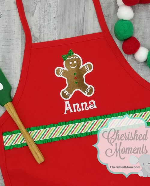 Gingerbread Kids Apron Rec